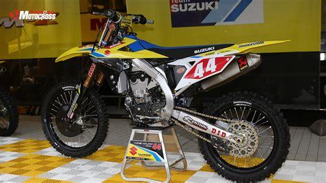 suzuki motocross gear 2018 photos suzuki transworld motocross