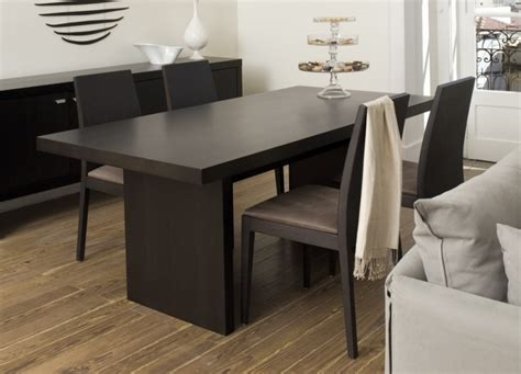 perth contemporary dining table dining tables go modern