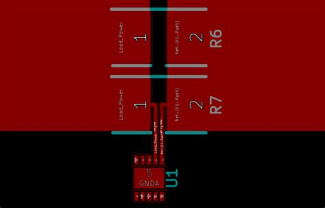 smd resistor layout recommended layout for parallel current sensing resistors electrical engineering stack exchange