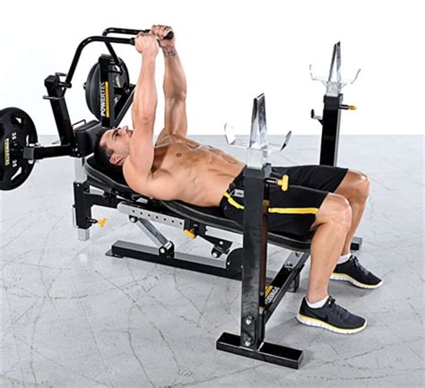 powertec bench press powertec workbench multi press wb mp15 fitnesszone