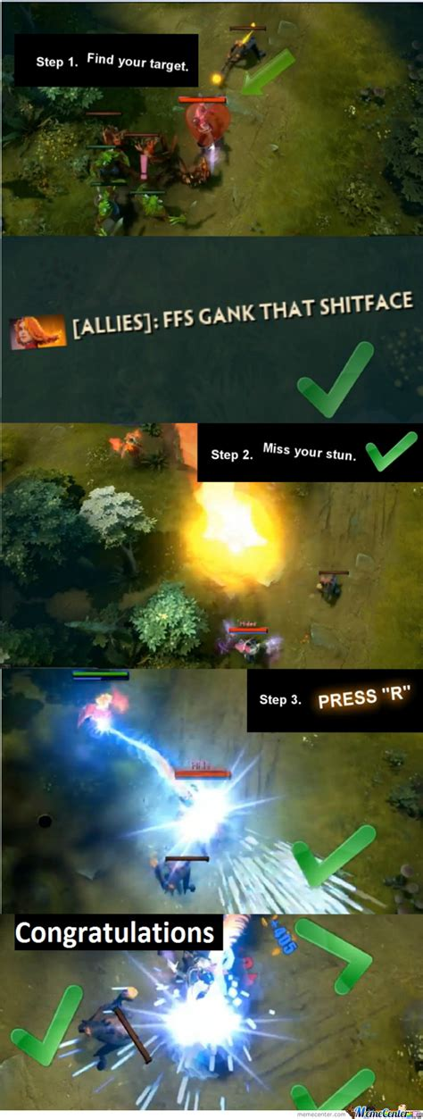 Meme Dota - dota 2 ganks by ninaad12123 meme center