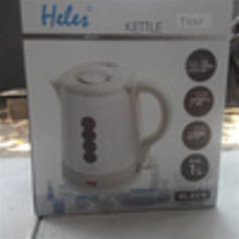 Heles Listrik Heles Hl 6318 jual kettle teko listrik heles 1 liter hl 6318 di lapak