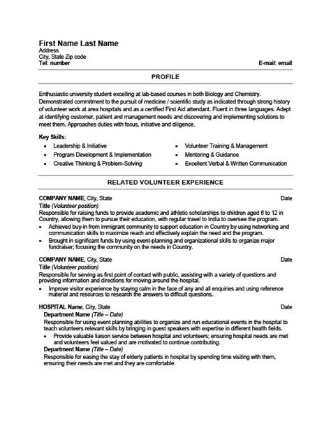 Resume Template Healthcare by Healthcare Resume Templates Resume Ideas