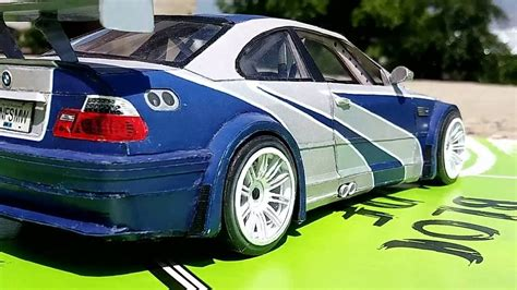 bmw m3 gtr for sale bmw m3 gtr e46 from nfs mw paper model 1 20