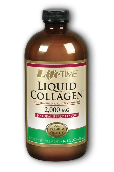 Berry Collagen collagen w hyaluronic acid d3 berry lifetime 16 oz
