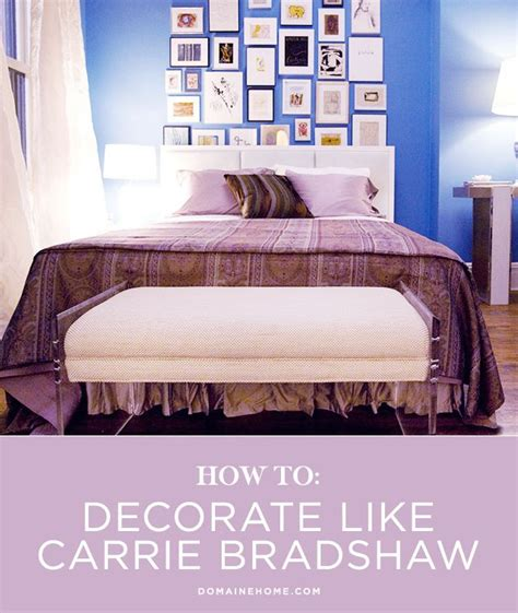 carrie bradshaw bedroom 17 best images about home decor tips on pinterest vinyls apartment bedrooms and