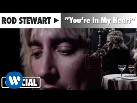 my lyrics rod stewart rod stewart quot you re in my quot official