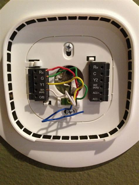 wiring 3 wire thermostat th9421c1004 visionpro iaq wiring