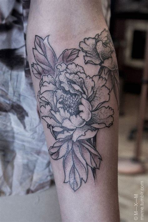peonie tattoo 45 most beautiful peony designs snaps
