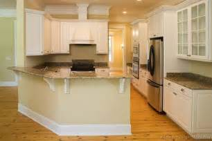 Bar Height Kitchen Cabinets Pictures Of Kitchens Traditional White Kitchen