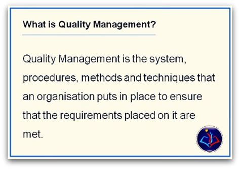 Explain Quality What Is Quality Management