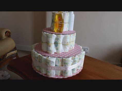bebek pasta oyunlari bebek bezinden pasta yapımı how to make a dıaper cake