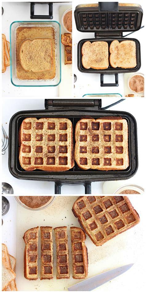 Toaster Waffle toast waffle sticks the bakermama