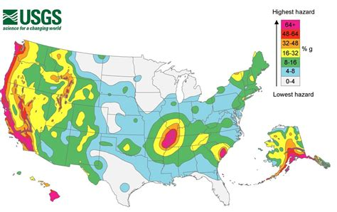Earthquake Zones Map | find out if you live by an earthquake hazard zone earth