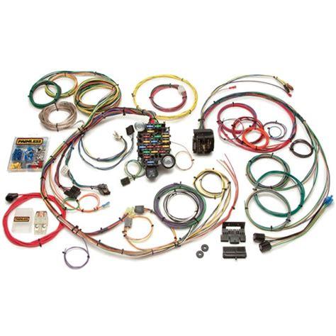 1968 camaro wiring harness painless 20101 1967 1968 camaro firebird 24 circuit wiring