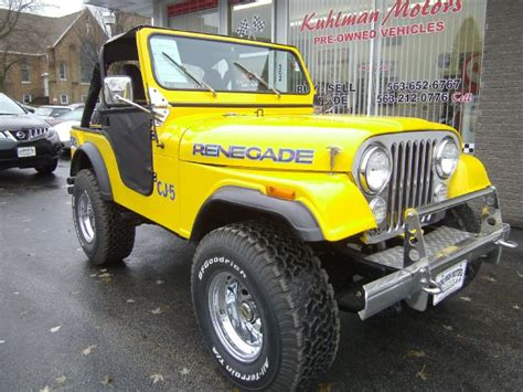 1972 Jeep Cj5 For Sale Used Jeep Cj 5 For Sale Carsforsale