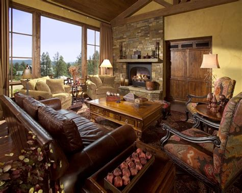 rich living room rich textures amazing views
