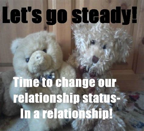 lets  steady   relationship   couples ecards