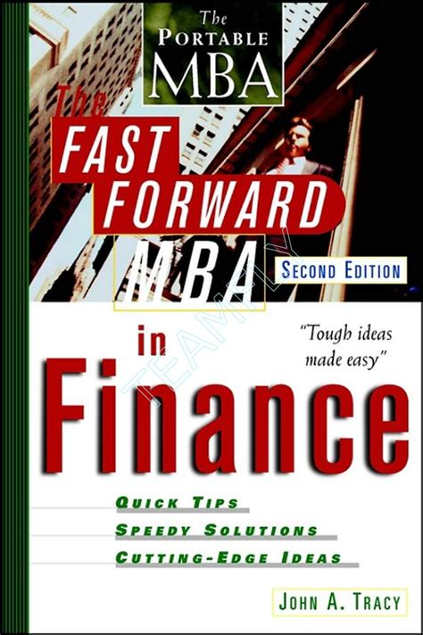 Mba In Finance Programs In by Fast Forward Mba In Finance