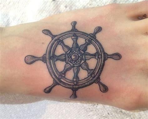 schiffs rad tattoos designs und bedeutungen