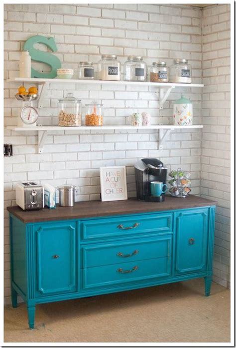 Dresser In Kitchen by 17 Best Ideas About Teal Painted Dressers On Teal Dresser Teal Drawers And Teal