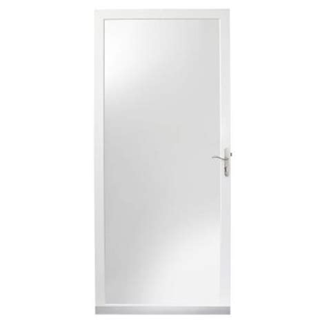 Home Depot Andersen Door by Andersen 2000 Series White View Door 20fvn 30wh