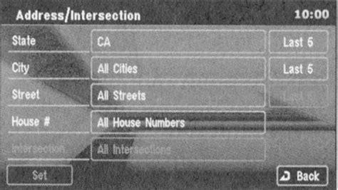 Address Search By Name And State Search By Address Intersection Service 411
