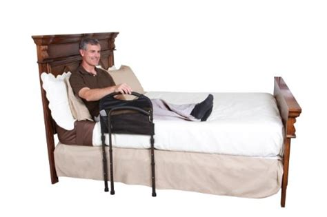 adult bed rail stander mobility home adult bed rail cushioned support