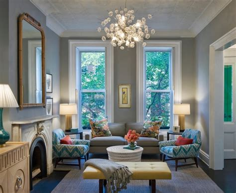 blue gray yellow living room how to make your home look like you hired an interior designer freshome