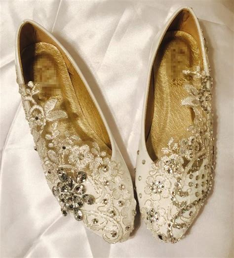 Ballet Wedding Shoes by Vintage Lace Wedding Shoes Bridal Ballet Shoes Lace Flats
