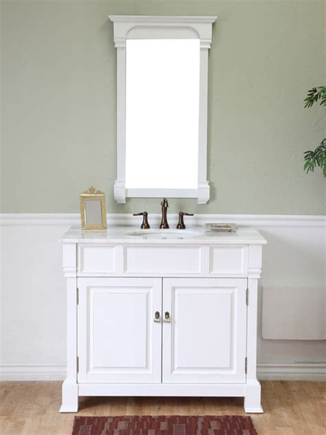 San Diego Bathroom Vanities 42 Quot Helena Single Bath Vanity White Traditional Bathroom Vanities And Sink Consoles San