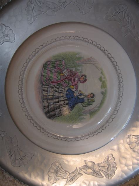 decorative plates for wall hanging for sale vintage wrought aluminum farberware