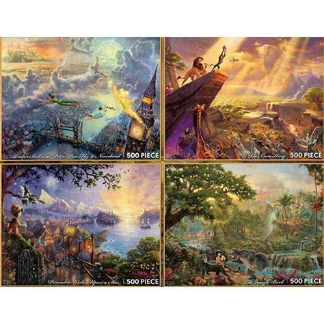 Disney Puzzle   Thomas Kinkade   Painter of Light   4