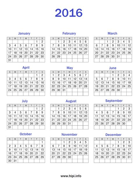 printable calendar 2016 uk a4 twitter headers facebook covers wallpapers calendars