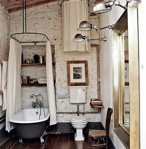 Decorating Ideas For Vintage Bathrooms Vintage Industrial Bathrooms