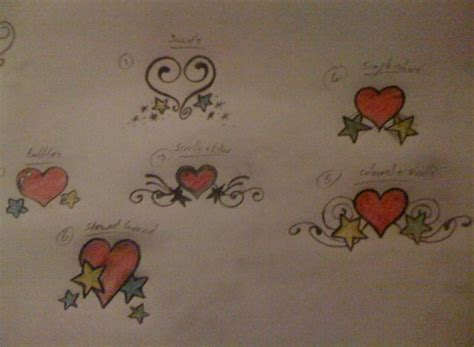 heart rose and vine tattoo designs february 2014 tattoos