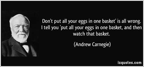 where do you put a st eggs in one basket quotes quotesgram