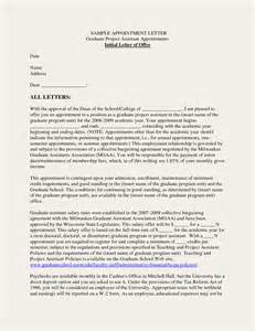 Appointment Letters Samples Business Appointment Letter Format Sample