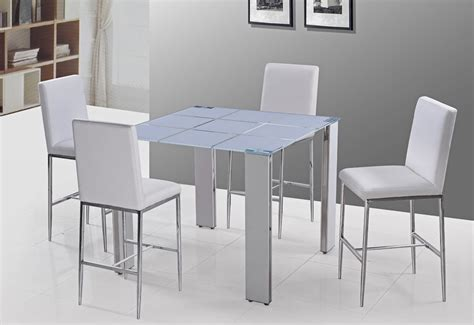 Modern Bar Table White Modern Pub Table Set