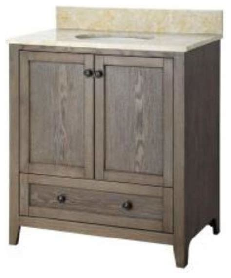 31 Inch Vanity by Foremost Brentwood 31 Inch Vanity With Engineered