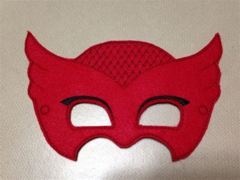 printable owlette mask owlette pj masks mask yesss for the kiddos