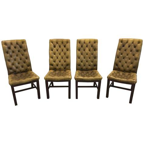 dina chrome dining chair decofurn factory shop chesterfield dining chairs chesterfield bonded leather