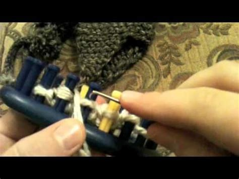how do you make one in knitting learn how to make loom knit earflaps on hats or beanie aka