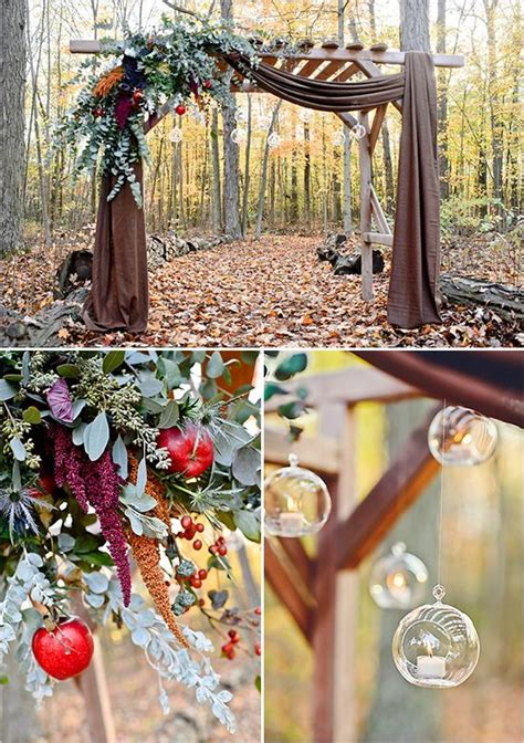 fall wedding arch ideas  rustic wedding deer pearl