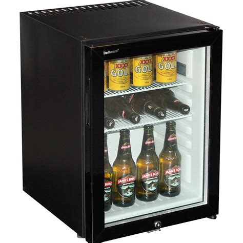 Freezer Mini Bar silent mini bar fridge with glass door and lock 40ltr