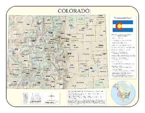colorado map with county lines map of colorado counties images
