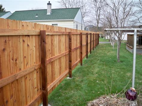 ear fence ear style wood fence gallery phillips fencing