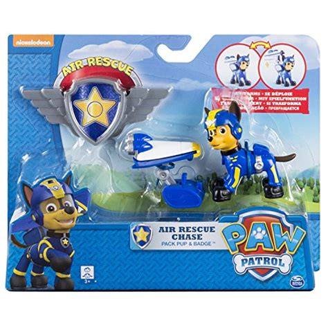 paw patrol air rescue pup pack badge import it all