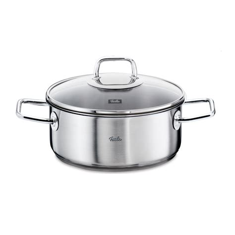 fissler induction cooktop fissler viseo frying pot stainless steel 18 10 induction
