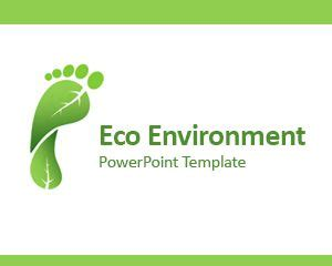 Free Eco Environment Powerpoint Template Environmental Powerpoint Templates